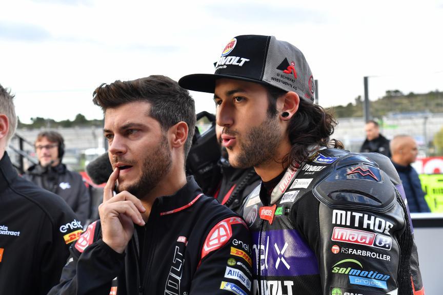 Jesko Raffin, Dynavolt Intact GP, Gran Premio Motul de la Comunitat Valenciana