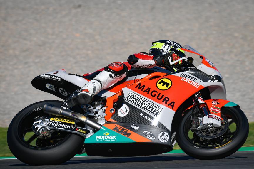 Lukas Tulovic, Kiefer Racing, Gran Premio Motul de la Comunitat Valenciana