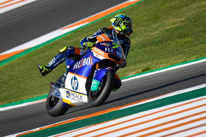 Lorenzo Baldassarri, Flex-Box HP40, Gran Premio Motul de la Comunitat Valenciana