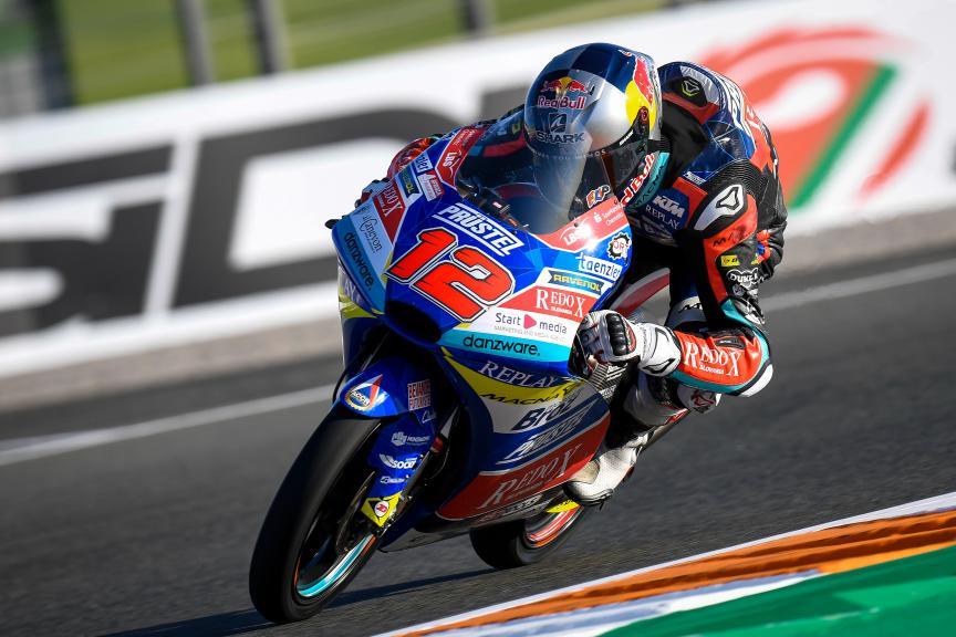 Filip Salac, Redox PruestlGP, Gran Premio Motul de la Comunitat Valenciana