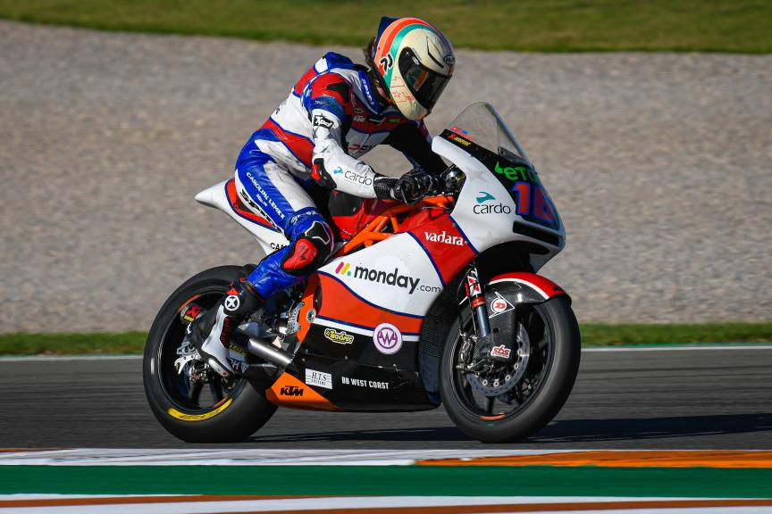 Joe Roberts, American Racing KTM, Gran Premio Motul de la Comunitat Valenciana