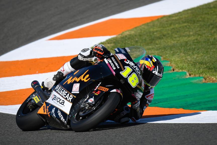 Xavier Cardelus, Gaviota Angel Nieto Team, Gran Premio Motul de la Comunitat Valenciana