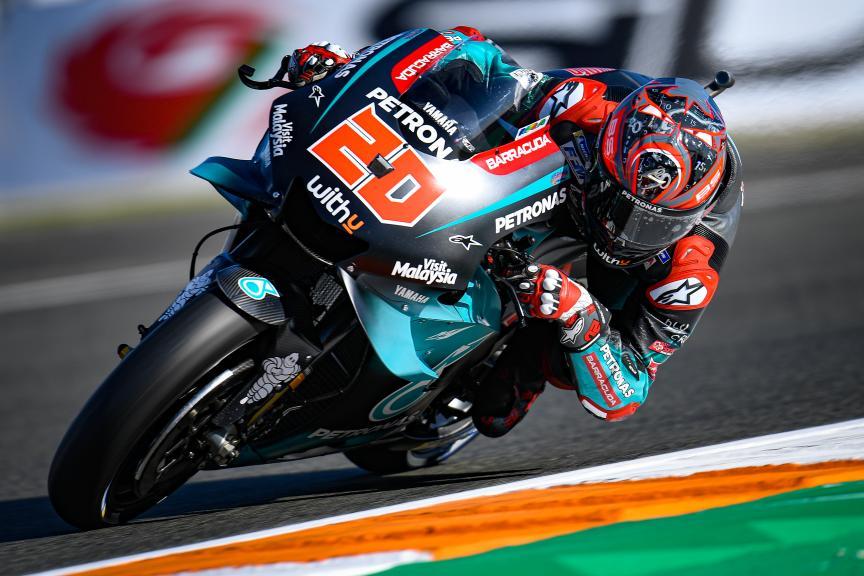 Fabio Quartararo, Petronas Yamaha SRT, Gran Premio Motul de la Comunitat Valenciana