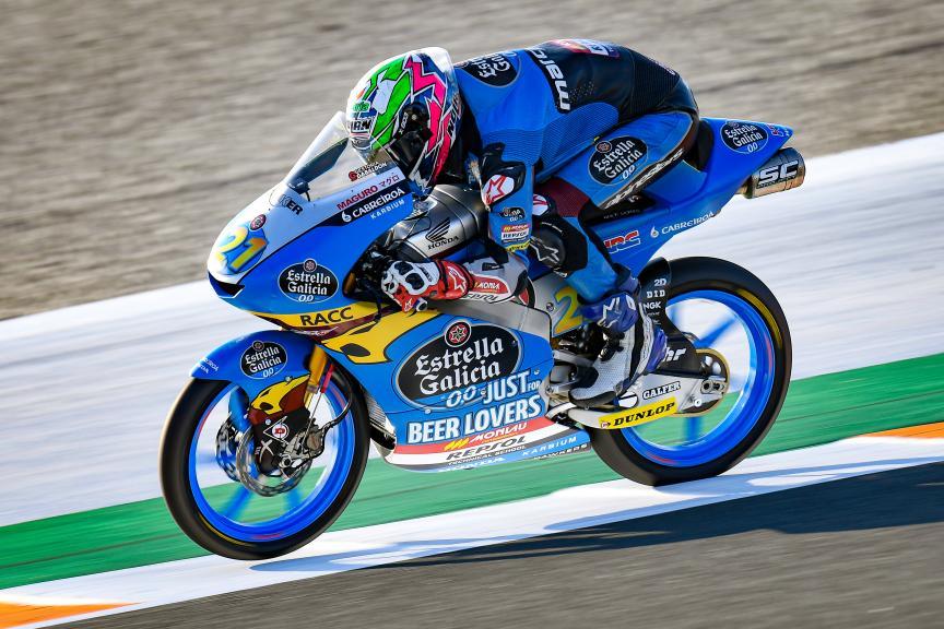 Alonso Lopez, Estrella Galicia 0,0, Gran Premio Motul de la Comunitat Valenciana