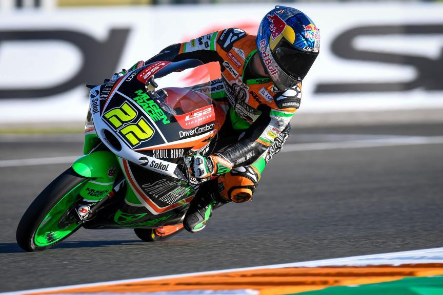 Kazuki Masaki, BOE Skull Rider Mugen Race, Gran Premio Motul de la Comunitat Valenciana
