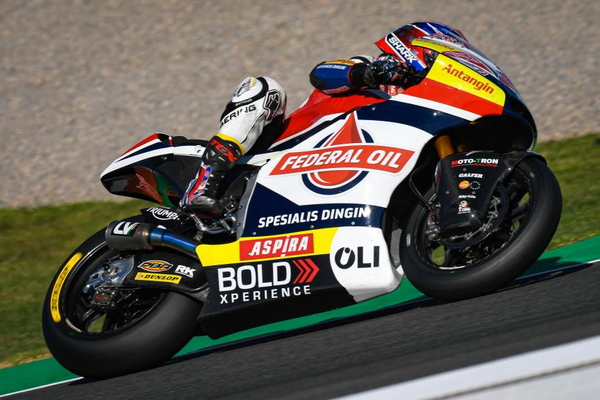 Sam Lowes, Federal Oil Gresini Moto2, Gran Premio Motul de la Comunitat Valenciana