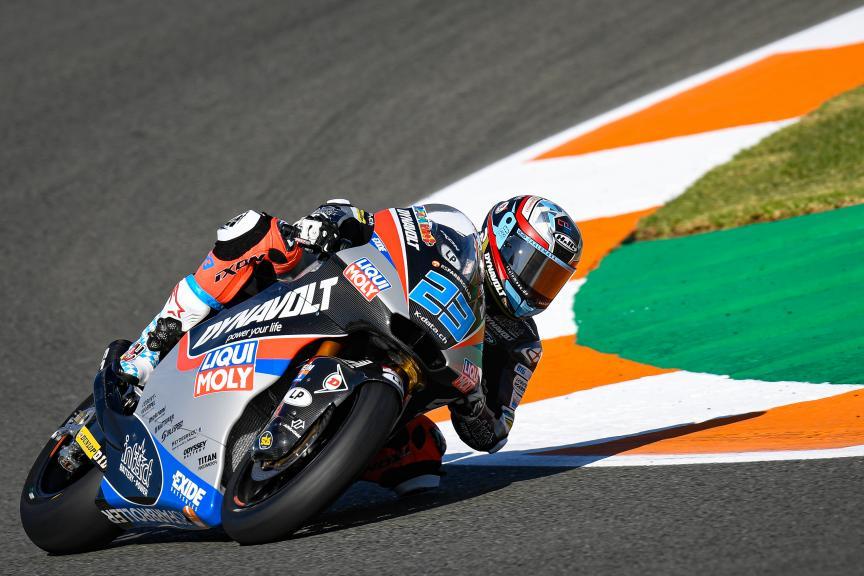 Marcel Schrotter, Dynavolt Intact GP, Gran Premio Motul de la Comunitat Valenciana