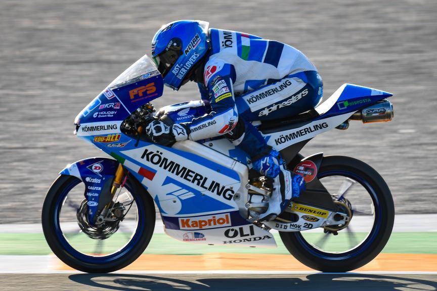 Jeremy Alcoba, Kőmmerling Gresini Moto3, Gran Premio Motul de la Comunitat Valenciana