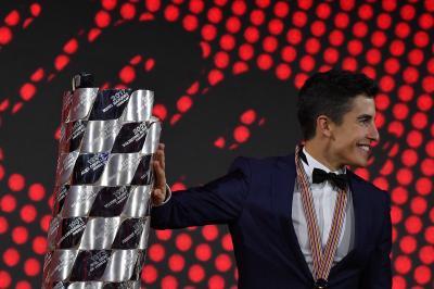 ¡Todo listo para los FIM MotoGP™ Awards!