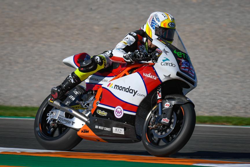 Sean Dylan Kelly, American Racing KTM, Gran Premio Motul de la Comunitat Valenciana