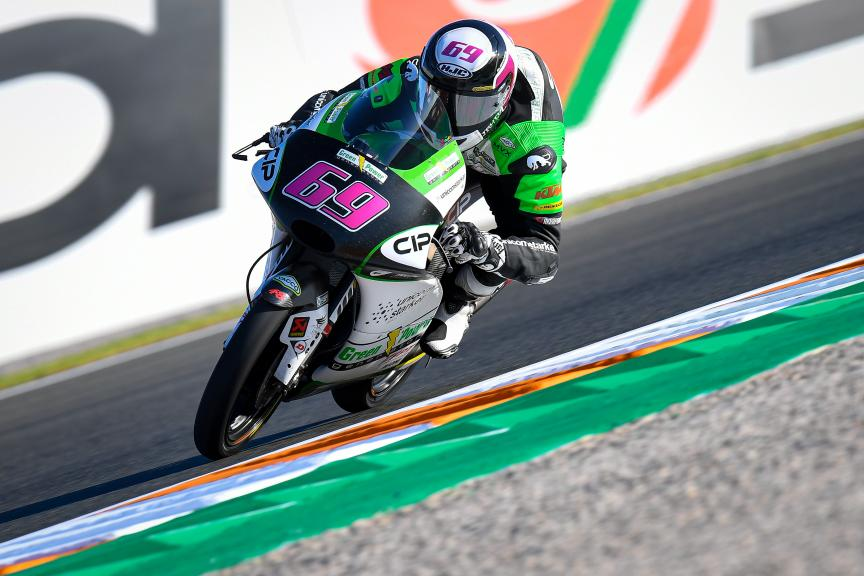 Tom Booth-Amos, CIP Green Power, Gran Premio Motul de la Comunitat Valenciana