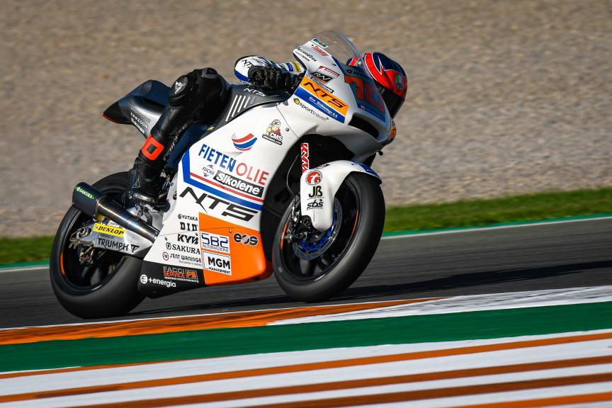 Tommaso Marcon, NTS RW Racing Gp, Gran Premio Motul de la Comunitat Valenciana