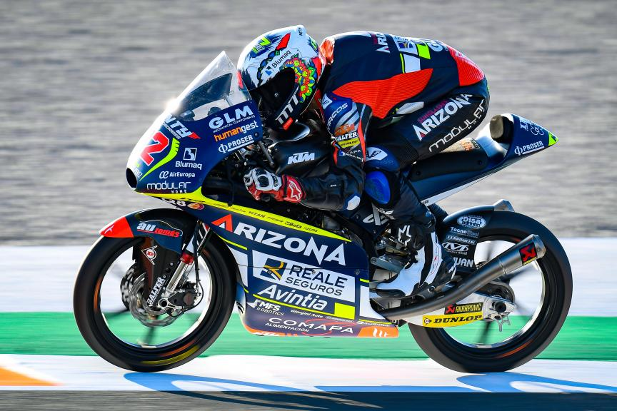 Stefano Nepa, Reale Avintia Arizona 77, Gran Premio Motul de la Comunitat Valenciana
