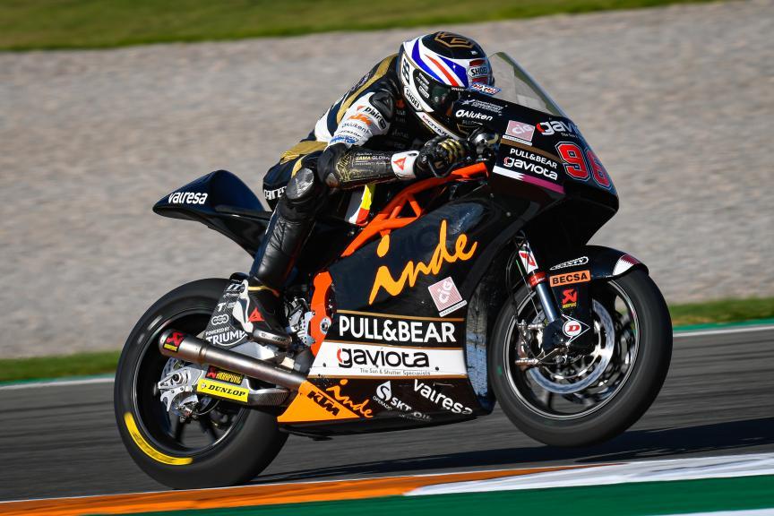 Jake Dixon, Gaviota Angel Angel Nieto Team, Gran Premio Motul de la Comunitat Valenciana