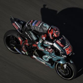 Quartararo übernimmt die Spitze in FP1