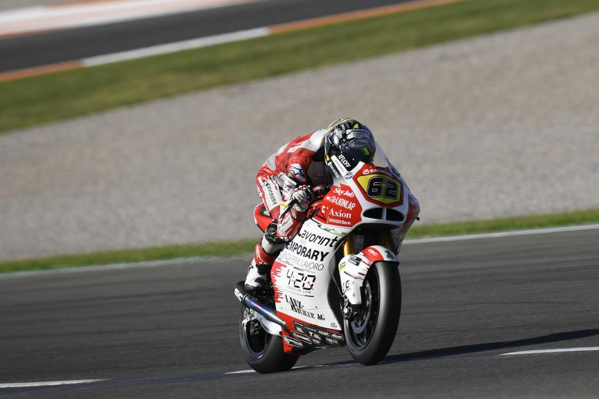 Stefano Manzi, MV Augusta Temporary Forward, Gran Premio Motul de la Comunitat Valenciana