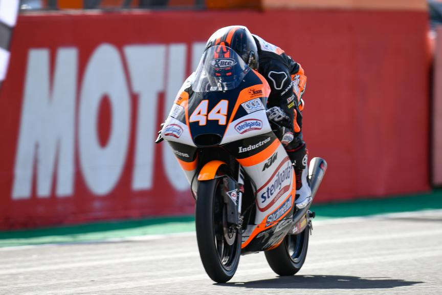 Aron Canet, Sterilgarda Max Racing Team, Gran Premio Motul de la Comunitat Valenciana