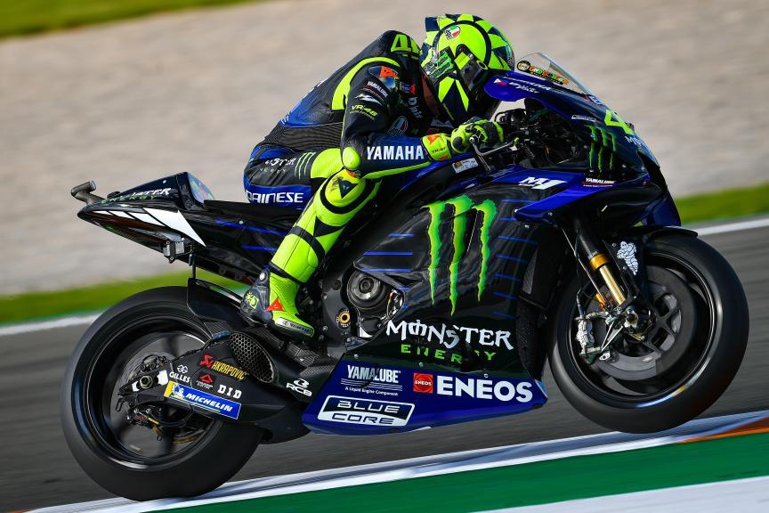 Valentino Rossi, Monster Energy Yamaha MotoGP, Gran Premio Motul de la Comunitat Valenciana