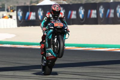 Quartararo denies Marquez the final pole of the season