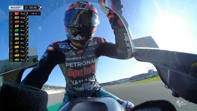 FREE: The last 5 minutes of qualifying in Valencia