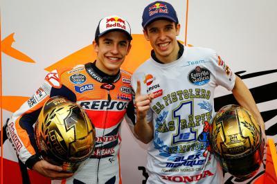 ¿Qué supondría para Márquez compartir box con su hermano?