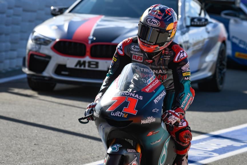 Ayumu Sasaki, Petronas Sprinta Racing, Gran Premio Motul de la Comunitat Valenciana