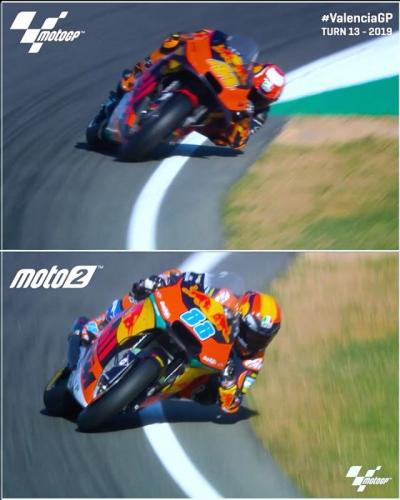 Is there a better sight in motorcycle racing than Turn
