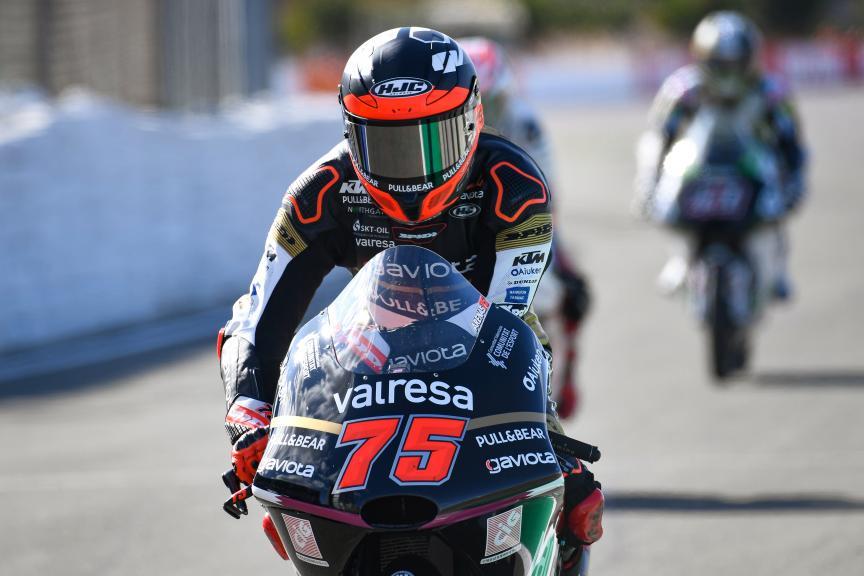 Albert Arenas, Valresa Angel Nieto Team, Gran Premio Motul de la Comunitat Valenciana