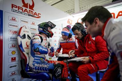 Bagnaia forfait à Valence après sa chute des FP3