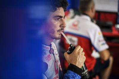 Bagnaia unfit for Valencia race