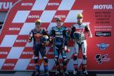 Jorge Navarro, Jorge Martin, Stefano Manzi, Gran Premio Motul de la Comunitat Valenciana