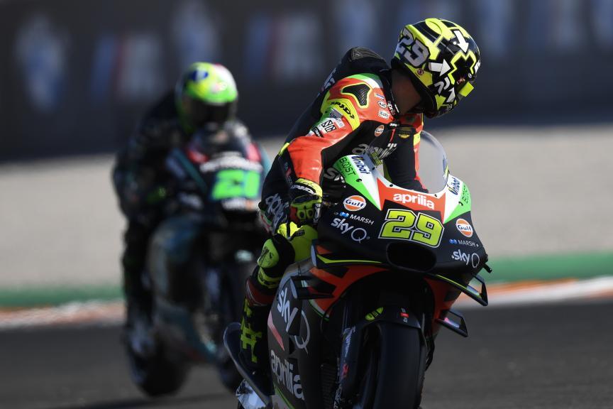 Andrea Iannone, Aprilia Racing Team Gresini, Gran Premio Motul de la Comunitat Valenciana