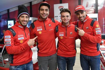 Your 2019 @MotoGPeSport World Champion is... Andrea Saveri a Ducati