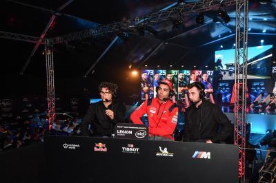 Danilo Petrucci als MotoGP™ eSport-Kommentator