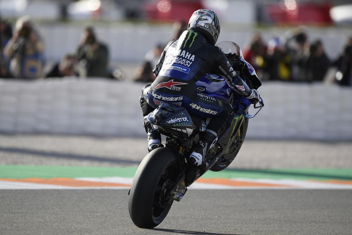 Viñales mène les FP4 à Valence - MotoGP