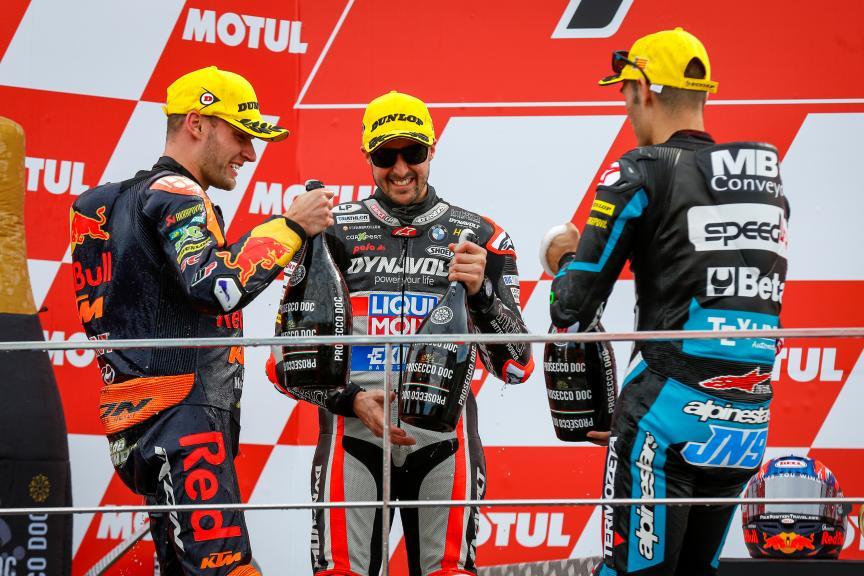Brad Binder, Thomas Luthi, Jorge Navarro, Gran Premio Motul de la Comunitat Valenciana