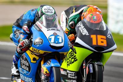 Moto3™ : Grande première pour Garcia !