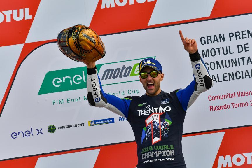 Matteo Ferrari, Trentino Gresini MotoE, Gran Premio Motul de la Comunitat Valenciana