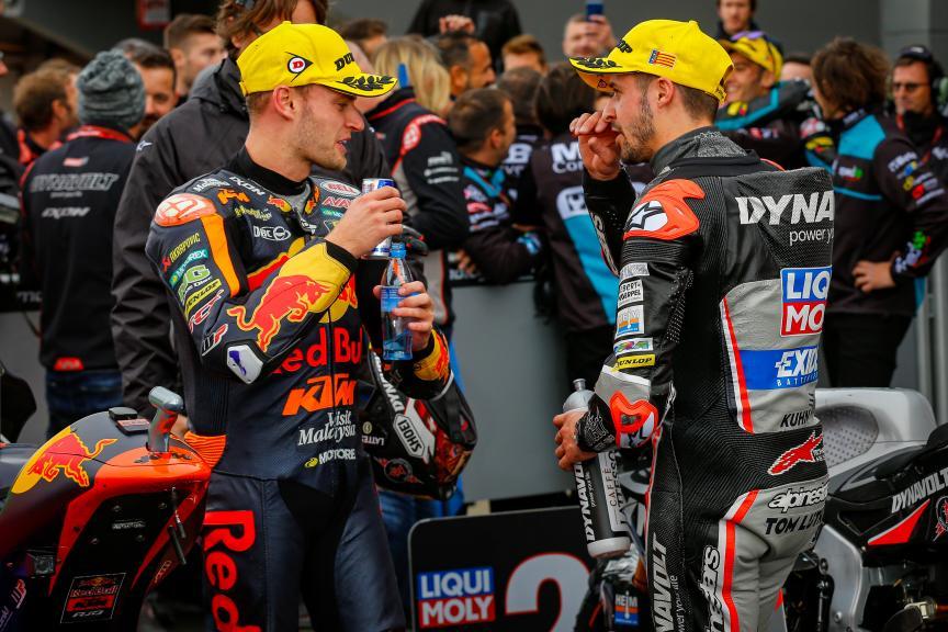 Thomas Luthi, Brad Binder, Gran Premio Motul de la Comunitat Valenciana