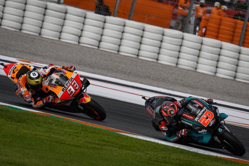 Fabio Quartararo, Marc Marquez, Gran Premio Motul de la Comunitat Valenciana