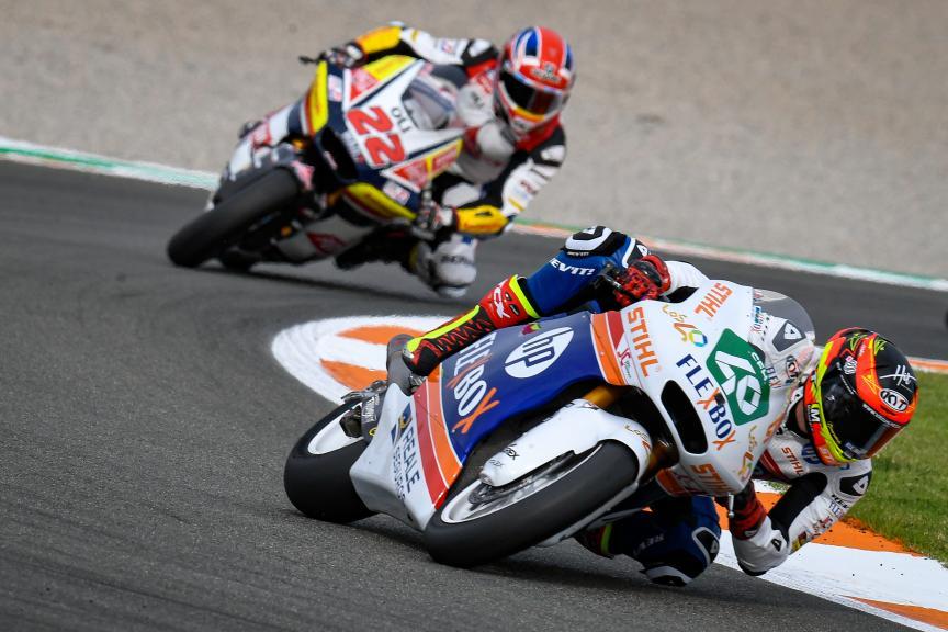 Augusto Fernandez, Flex-Box HP40, Gran Premio Motul de la Comunitat Valenciana