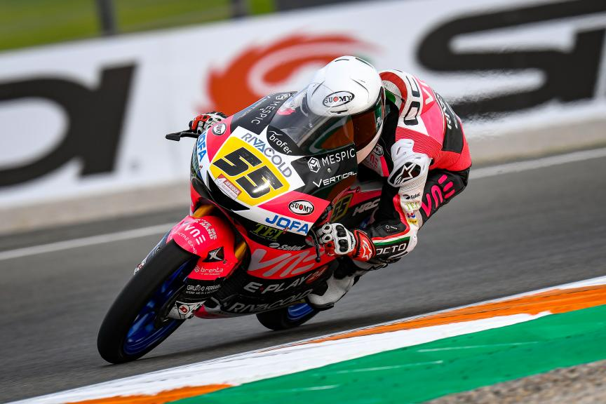 Romano Fenati, VNE Snipers Team, Gran Premio Motul de la Comunitat Valenciana