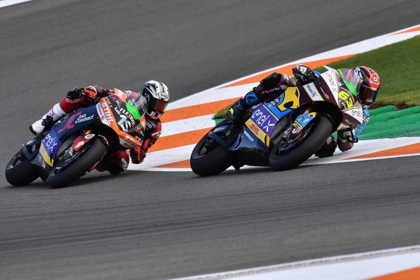 Mike Di Meglio, Sete Gibernau, Gran Premio Motul de la Comunitat Valenciana