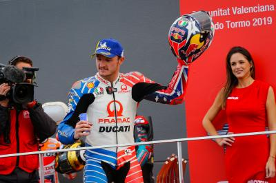 Miller rounds off best MotoGP™ season with magnificent third