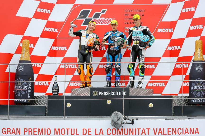 Sergio Garcia, Andrea Migno, Xavier Artigas, Mugen Race, Gran Premio Motul de la Comunitat Valenciana