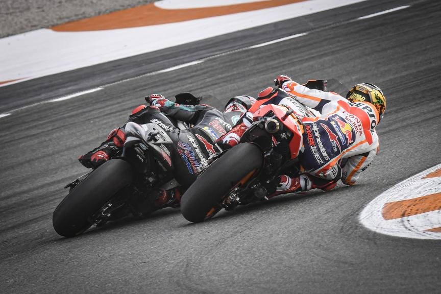Fabio Quartararo,Marc Marquez, Gran Premio Motul de la Comunitat Valenciana