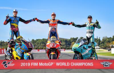 Séance photos avec les Champions !