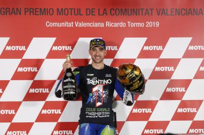 Sit down with your 2019 MotoE™ World Cup winner