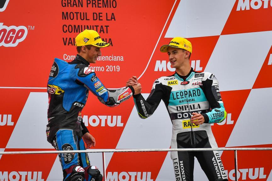 Sergio Garcia, Xavier Artigas, Gran Premio Motul de la Comunitat Valenciana