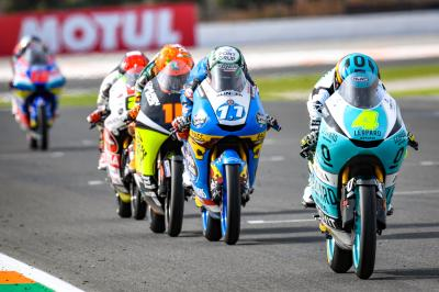 FREE: the last 5 minutes of Moto3™ in Valencia